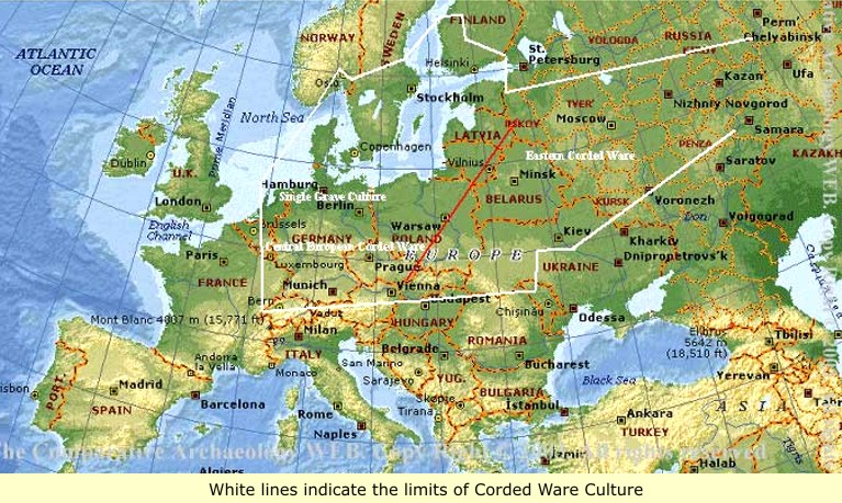 The Black Celts Wetwang Woman Cheddar Man - Map of europe and russia physical