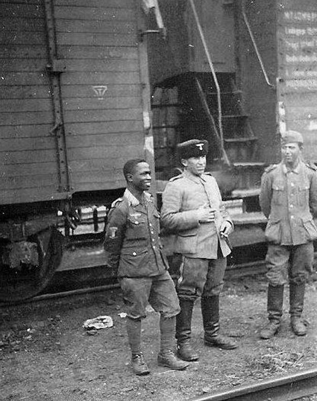 German Troops Drinking Coffee