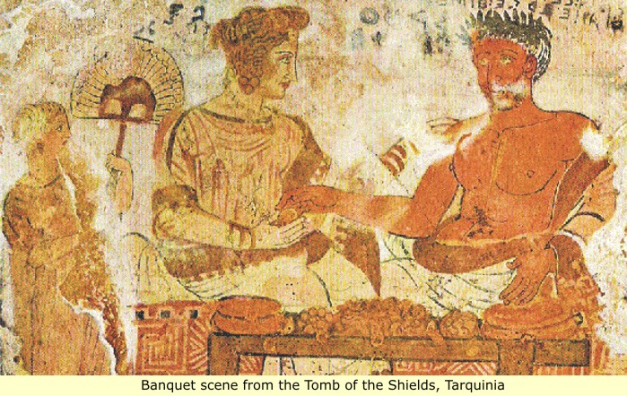 Etruscan Red Paint