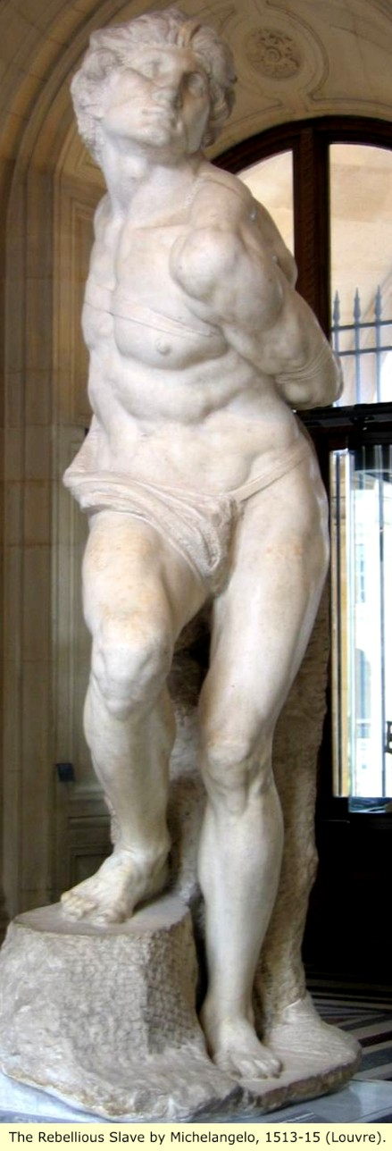 an analysis of the importance of the dying slave sculpture by michelangelo Michelangelo's moses sculpture figure of moses is depicted during the most important moment in famous statue of moses and dying slave and.
