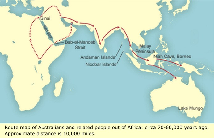 human migration out of africa Modern humans may have dispersed in more than one wave of migration out of africa and earlier than long thought, researchers now say.